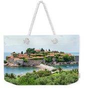 Sveti Stefan, Montenegro Weekender Tote Bag
