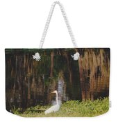 Swamp Bird Weekender Tote Bag