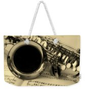Sweet Sounds Of The Sax Weekender Tote Bag