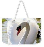 Sweet Swan 2 Weekender Tote Bag