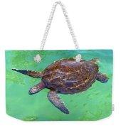 Swimming Along Weekender Tote Bag