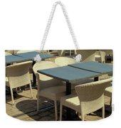 Tables Weekender Tote Bag