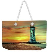 Talacre Lighthouse - Wales Weekender Tote Bag