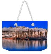 Talbot Lake Afternoon Panorama Weekender Tote Bag