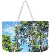 Tall Pine Trees Weekender Tote Bag