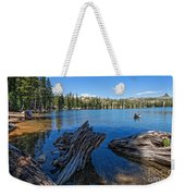 Tamarack Lake Weekender Tote Bag