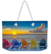 Tampa Bay Sunset Weekender Tote Bag