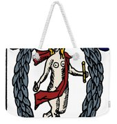 Tarot Card The World Weekender Tote Bag
