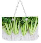 Tatsoi Weekender Tote Bag
