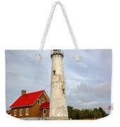 Tawas Point Lighthouse - Lower Peninsula, Mi Weekender Tote Bag