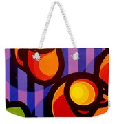 Tea And Apples Weekender Tote Bag