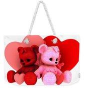 Teddy Bearz Valentine Weekender Tote Bag