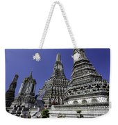 Temple Detail In Bangkok Thialand Weekender Tote Bag