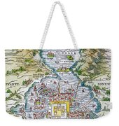 Tenochtitlan (mexico City) Weekender Tote Bag