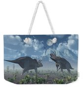 Territorial Confrontation Between Two Weekender Tote Bag