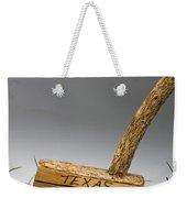 Texas Golf Putter. Weekender Tote Bag