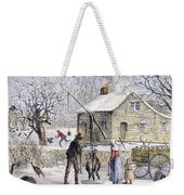 Thanksgiving, 1882 Weekender Tote Bag