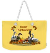 Thanksgiving Ducks Weekender Tote Bag