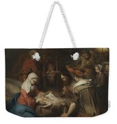 The Adoration Of The Shepherds Weekender Tote Bag