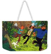 The Adventures Of Tintin Weekender Tote Bag