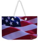 The American Flag Weekender Tote Bag
