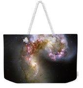 The Antennae Galaxies Weekender Tote Bag by Stocktrek Images