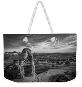 The Archway Bw Weekender Tote Bag