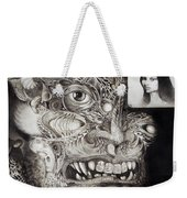 The Beast Of Babylon Weekender Tote Bag by Otto Rapp