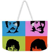 The Beatles Colors Weekender Tote Bag