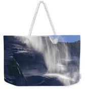 The Beautiful Bridalveil Falls Of Yosemite Weekender Tote Bag