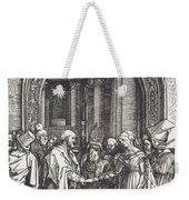 The Betrothal Of The Virgin Weekender Tote Bag