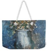 The Blue Vase Weekender Tote Bag