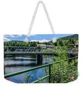The Bridges At Shelbourne Falls Weekender Tote Bag