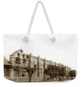 The Campanario, Or Bell Tower Of San Gabriel Mission Circa 1890 Weekender Tote Bag