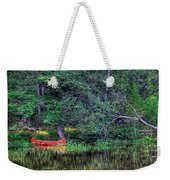 The Canoe Weekender Tote Bag