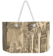 The Catafalque Of The Emperor Mathias Weekender Tote Bag