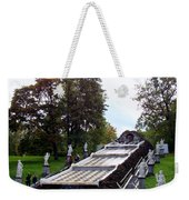 The Chessboard Hill Cascade Fountain On The Grounds Of The Peterhof Palace Weekender Tote Bag