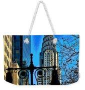 The Chrysler Building Weekender Tote Bag