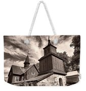 The Church Of Fagervik Weekender Tote Bag