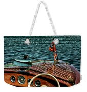 The Classic 1958 Chris Craft Weekender Tote Bag