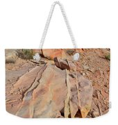 The Color Of Valley Of Fire Weekender Tote Bag