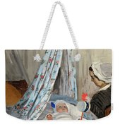The Cradle - Camille With The Artist's Son Jean Weekender Tote Bag