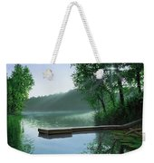 The Cross And The  Light Weekender Tote Bag