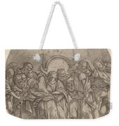 The Descent Of The Holy Spirit Weekender Tote Bag