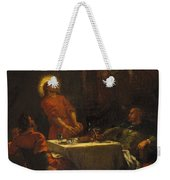 The Disciples At Emmaus Weekender Tote Bag