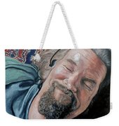 The Dude Weekender Tote Bag by Tom Roderick