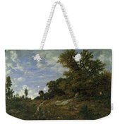 The Edge Of The Woods At Monts-girard, Fontainebleau Forest Weekender Tote Bag