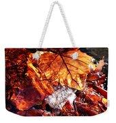 The End Of Fall Weekender Tote Bag