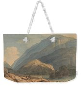 The Entrance Into Borrowdale Weekender Tote Bag