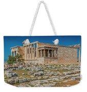 The Erechtheum On The Acropolis, Athens, Greece Weekender Tote Bag